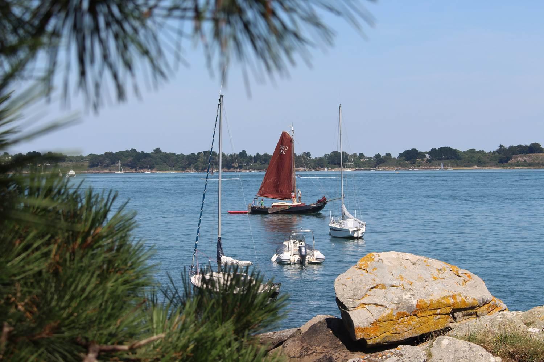 Jolie petite vue sur le Golf du Morbihan