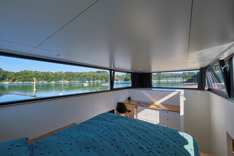 Cabine parentale - Lodge Boat Guidel ©