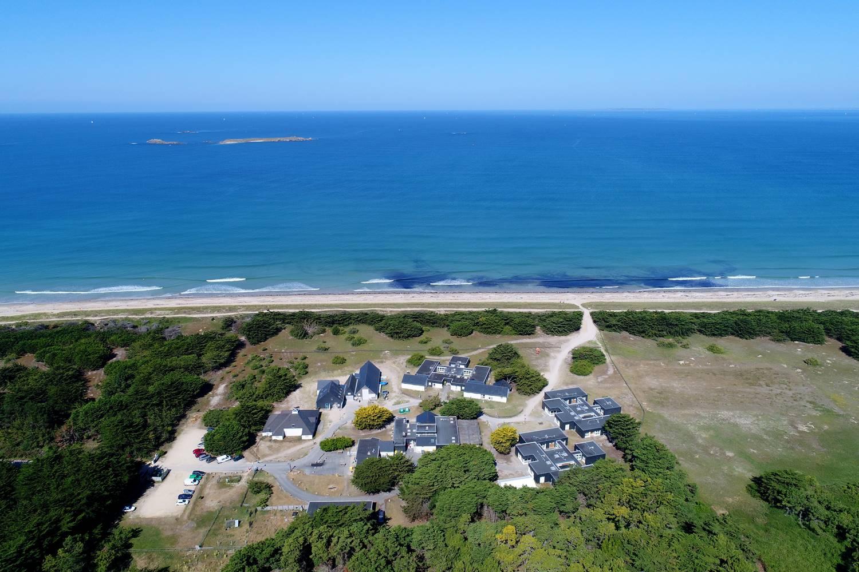 4 ha avec accès direct à la plage ©