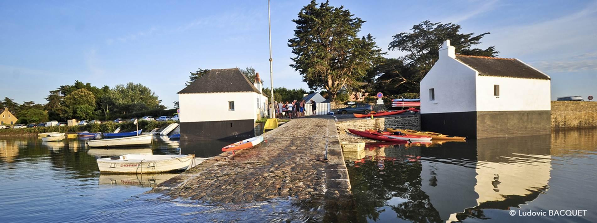 kayak- maison cale le passage saint-armel ©