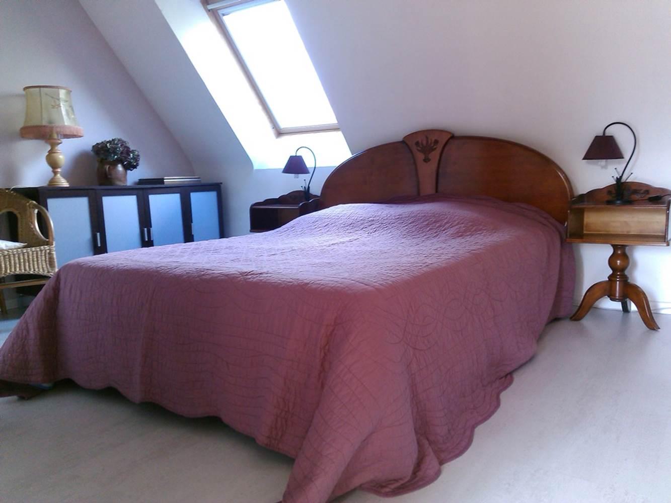 Chambre 1 - Gauthier - Marzan - Tourisme Arc Sud Bretagne ©
