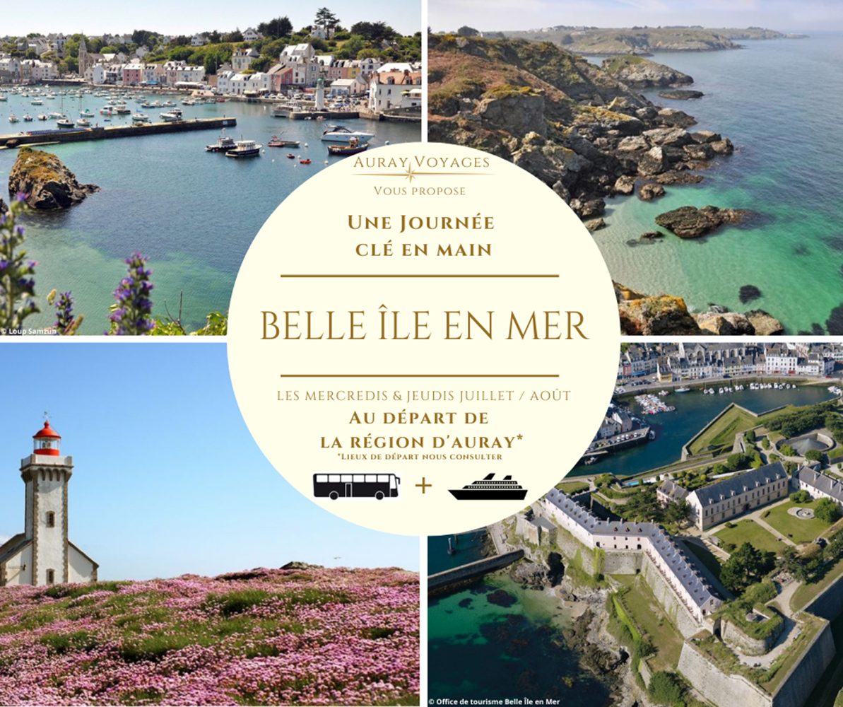 EXCURSIONS BELLE ÎLE ©