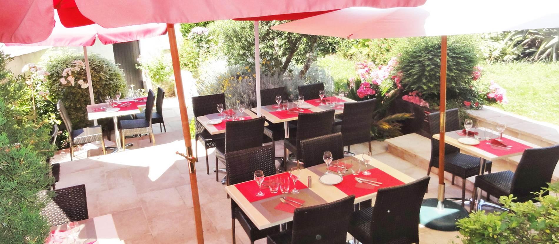 Restaurant-Au-Jardin-des-Sens-Hennebont-Morbihan-Bretagne-Sud © Restaurant Au Jardin des Sens - Hennebont