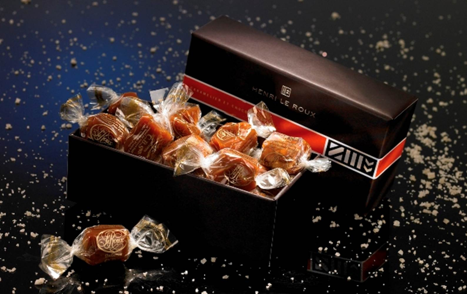 Ballotin chocolat henrie le roux, landevant, Morbihan ©