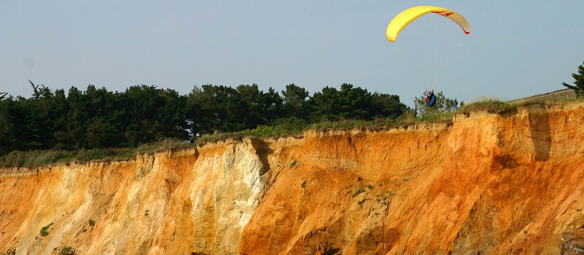 Falaise de la Mine d'Or - Pénestin - Morbihan Bretagne Sud © CDT56MS 1