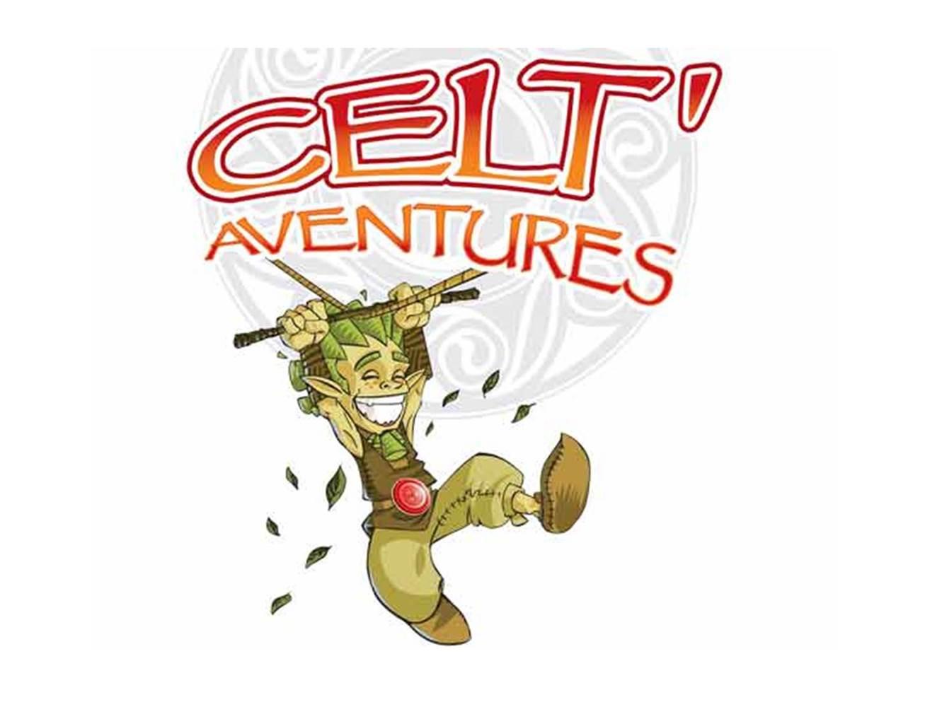 Logo-CeltAventures-Sarzeau-Presqu'île-de-Rhuys-Golfe-du-Morbihan-Bretagne sud © CeltAventures