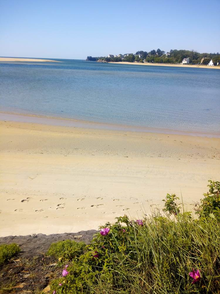 tranquillite a Guidel plage ©