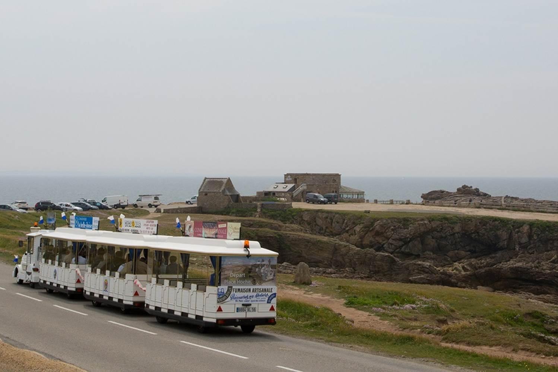 Petit train touristique - Quiberon - Morbihan - Bretagne-Sud ©