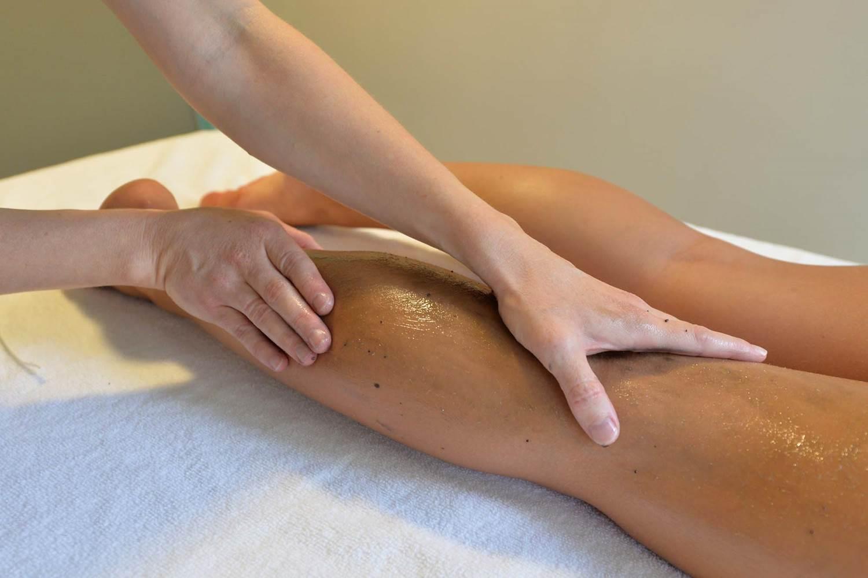 Thalazur-Carnac-massage-jambes-Morbihan-Bretagne-Sud © Michel RENAC