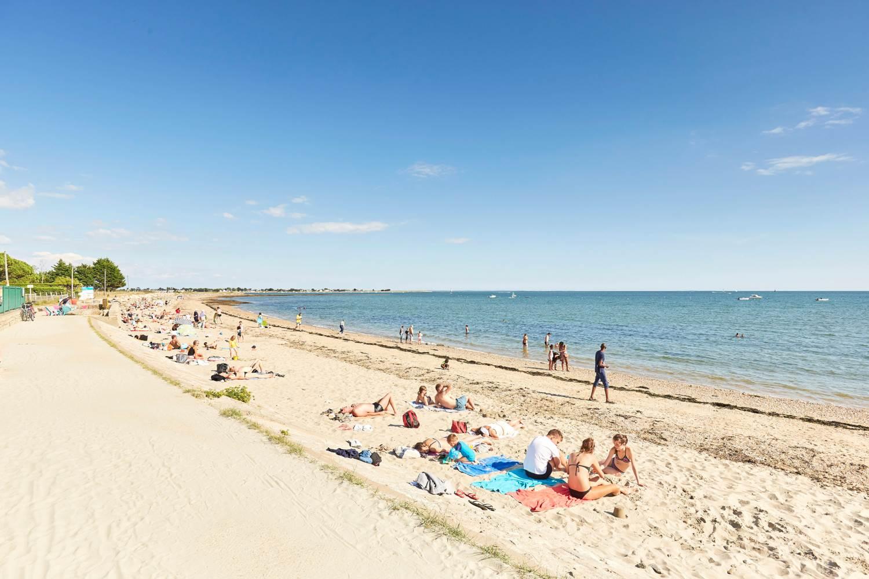 plage du Rouvran - Le Tour du Parc - Presqu'île de Rhuys - Golfe du Morbihan © Alexandre Lamoureux