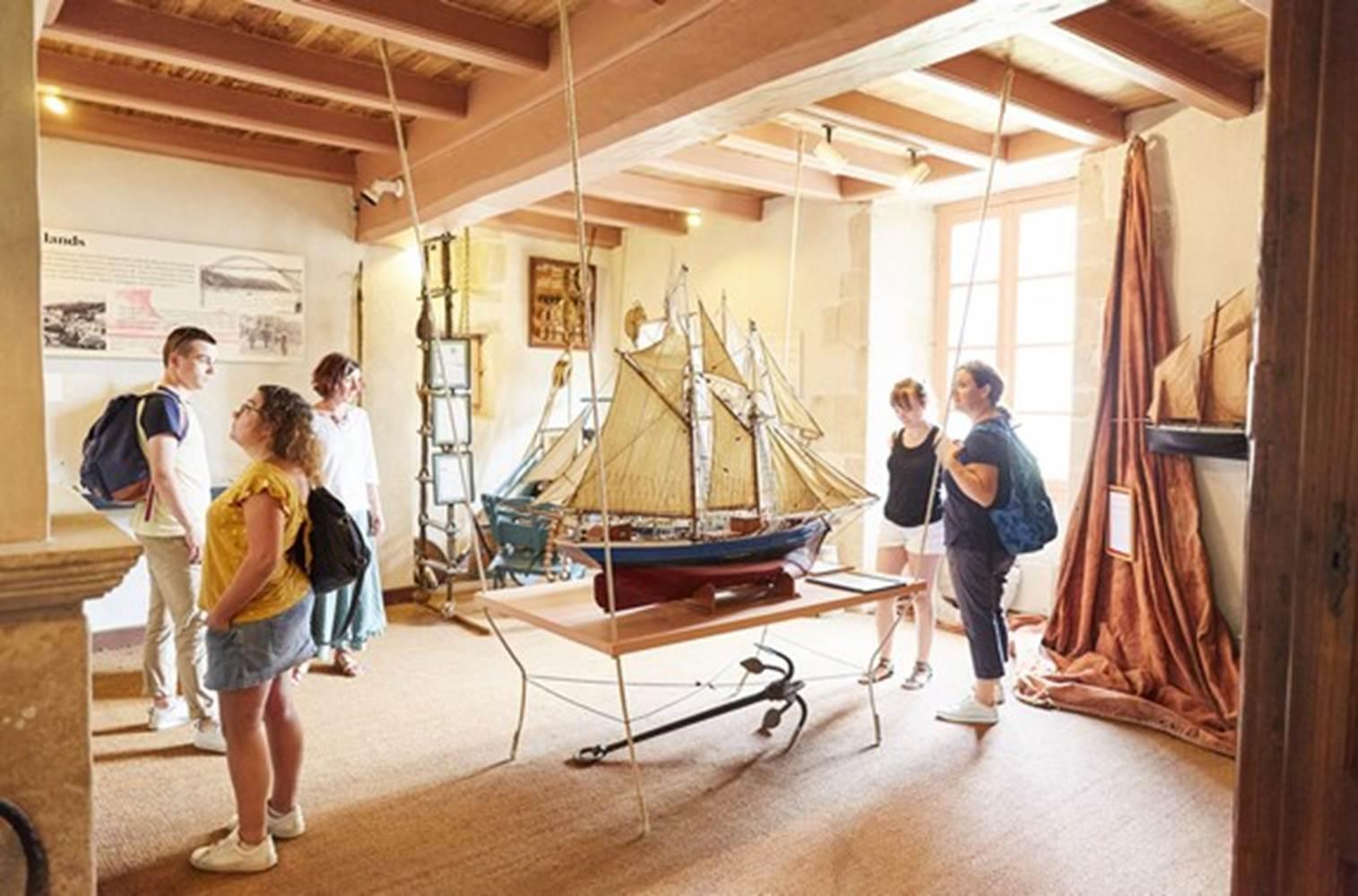 Musée de la Vilaine Maritime La Roche Bernard Morbihan © A. Lamoureux