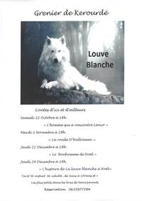 Contes d'ici et d'ailleurs : « Le Bonhomme de Noël » par Louve Blanche