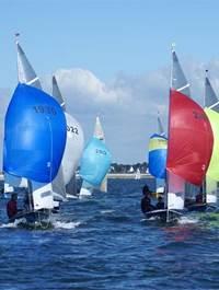 Compétition nautique: Les Dinghies