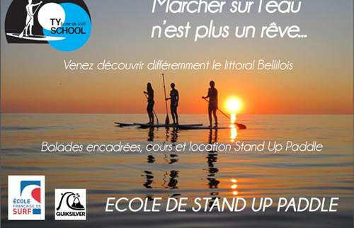Ecole de Stand Up Paddleboard : Ty School