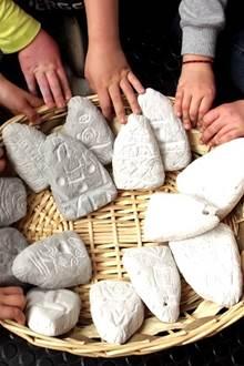 Atelier préhistoire au site des mégalithes