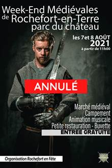 ANNULÉ - Weekend Médiéval au Château