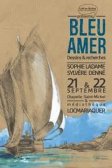 Exposition Bleu Amer - Locmariaquer