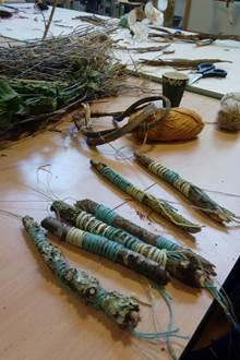 Créer avec la nature son mobile végétal