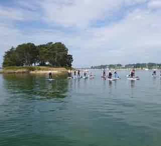 Découvrir le Golfe en paddle