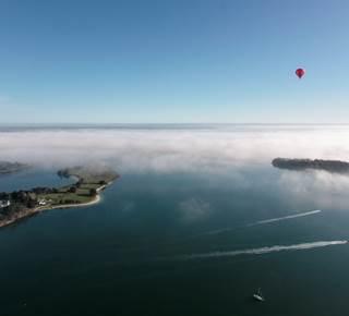 Le Golfe du Morbihan vu du ciel