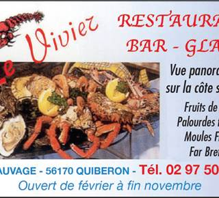 Bar Restaurant Le Vivier - Fruits de mer