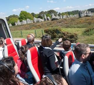 Visites guidées en car cabriolet- Carnac visio Tour