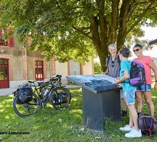 Location de vélos à la gare de Guiscriff