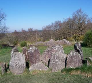 Mégalithes en Brocéliande