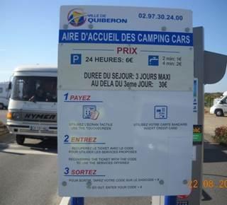 Aire Communale de Quiberon