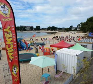 Club de plage plein air