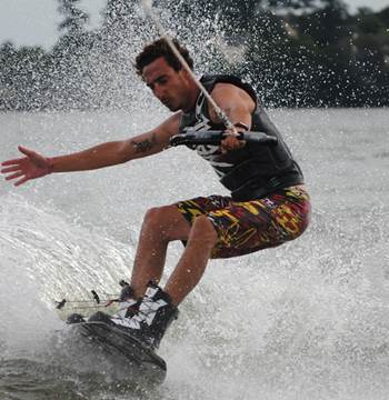 club nautique pays de ploermel wakeboard