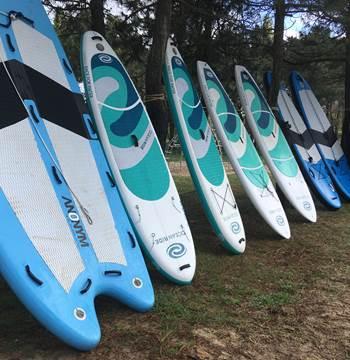 Paddle géant et individuels