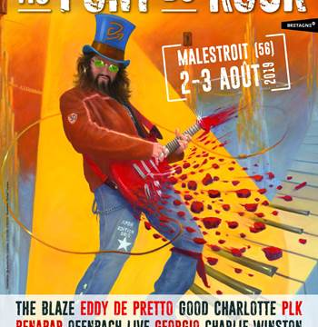 Festival Au pont du rock-Malestroit-Morbihan Bretagne Sud