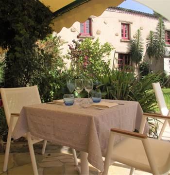 Restaurant le Roz Avel-Sauzon-Morbihan Bretagne Sud