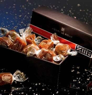 Ballotin chocolat henrie le roux, landevant, Morbihan