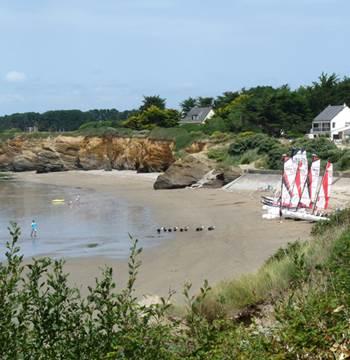 Plage de Poudrantais-Pénestin-Morbihan-Bretagne-Sud