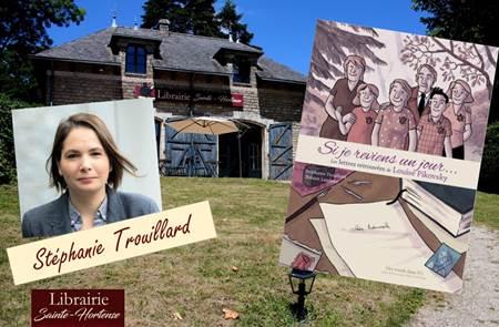 Dédicace Stéphanie Trouillard