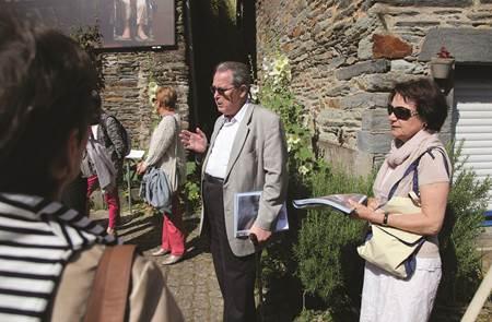 Visites guidées de l'association La Gacilly Patrimoine