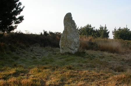 Le Menhir Pierre Sainte Anne