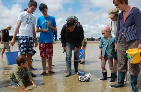 Découverte de la Pêche à Pied avec Mélanie Chouan