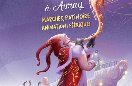 Animations de noël à Auray
