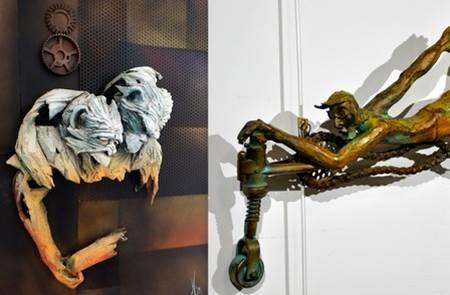 Exposition : Sculptures de Christel et Jean-Michel Hameau