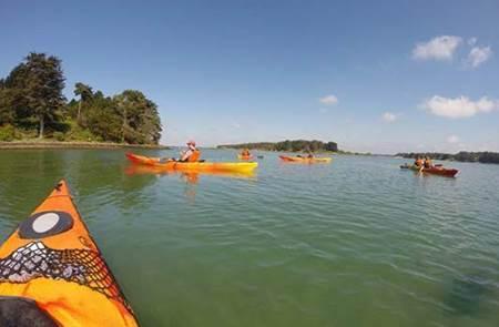 Balade nautique kayak à Baden