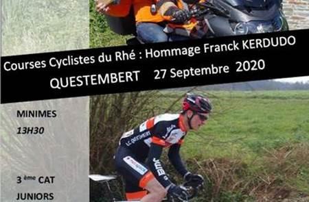 Courses cycliste du Rhé